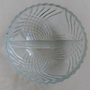 Round 2 sides Glass bowl